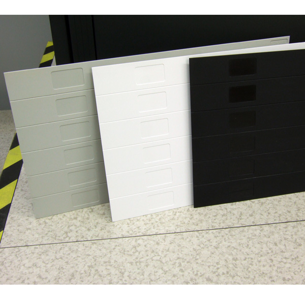 EZIBlank Blanking Panels are available in 3 Colours: Black, Grey & White