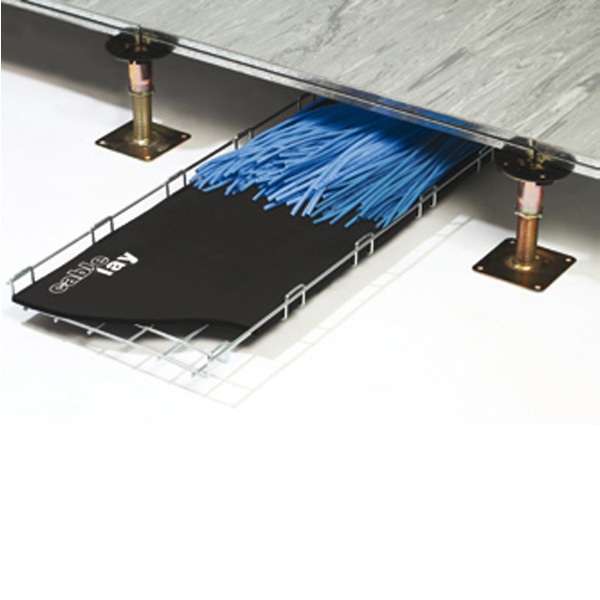 CableLay in Basket Tray