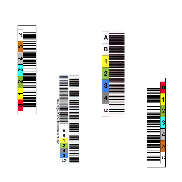 LTO 2 Media Labels
