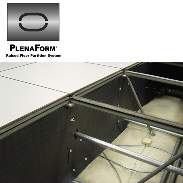 PlenaForm Under Floor Air Baffle Partitioning System