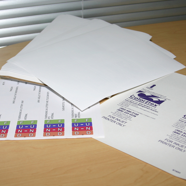 Colorflex Label Facestock