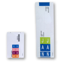Convert-A-Tab Strip Labels - Convert Square End Folders To Tab End Folders