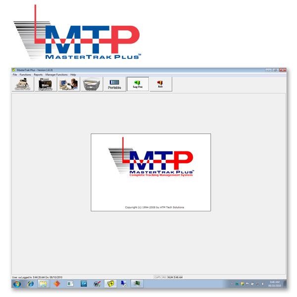 MasterTrak Plus File Tracking Software