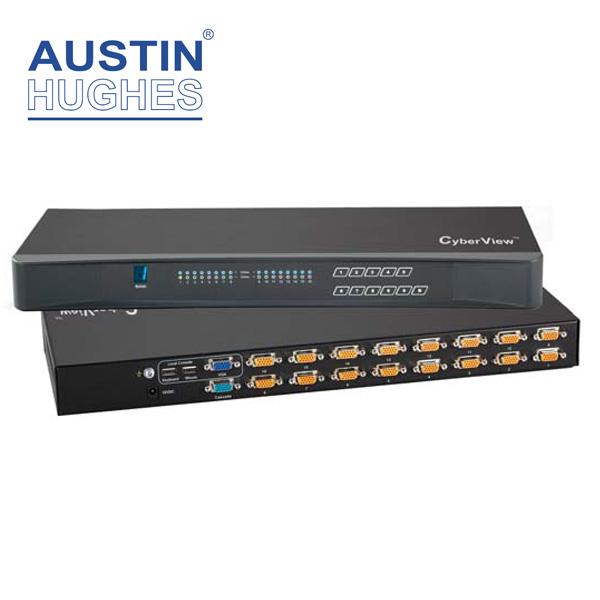Austin Hughes Combo DB15 KVM Switch