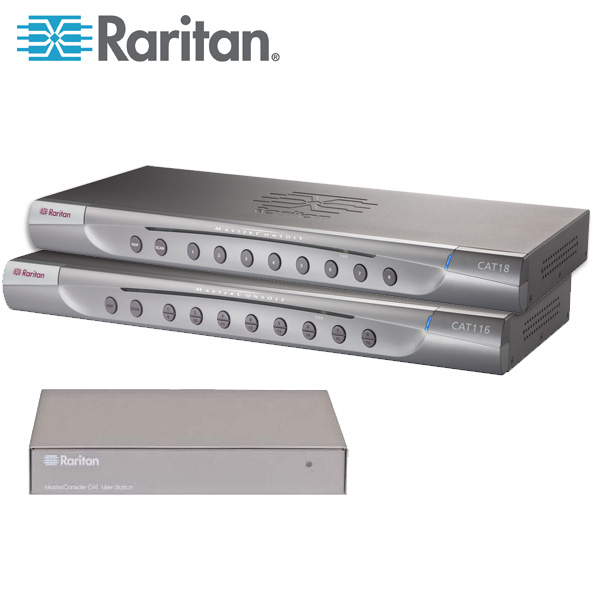 Raritan MasterConsole CAT KVM Switch