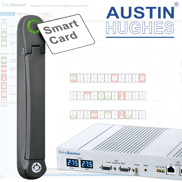 Austin Hughes InfraSolution Rack Access Control Systems
