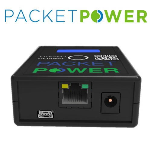 Packet Power Ethernet Gateway version 4 network connection port