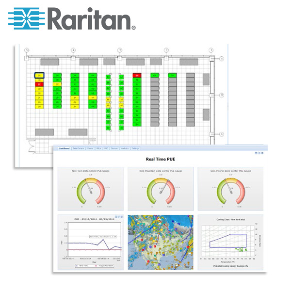 Raritan Power IQ DCIM Monitoring Software