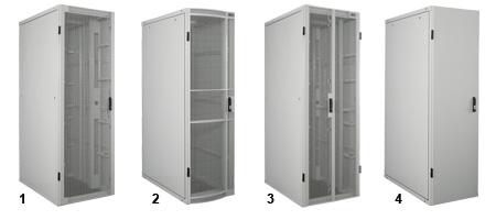 Usystem 4210 Server Cabinet Door Options