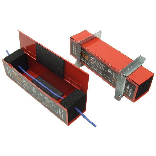 Abesco CT120 Square Fire Stop Cable Clamp