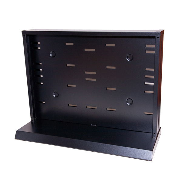 Empty EDP Single Sided Compact Multi-media Rack with no storage pacs