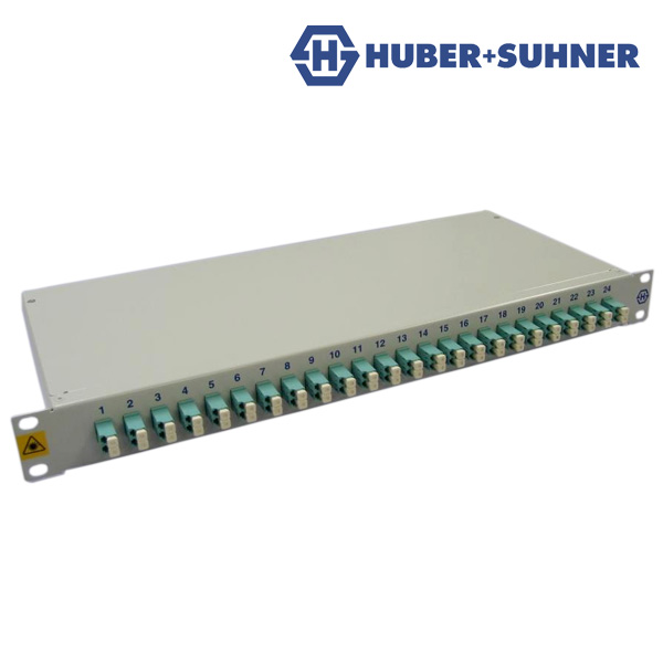 Huber+Suhner Fibre Patch Panel