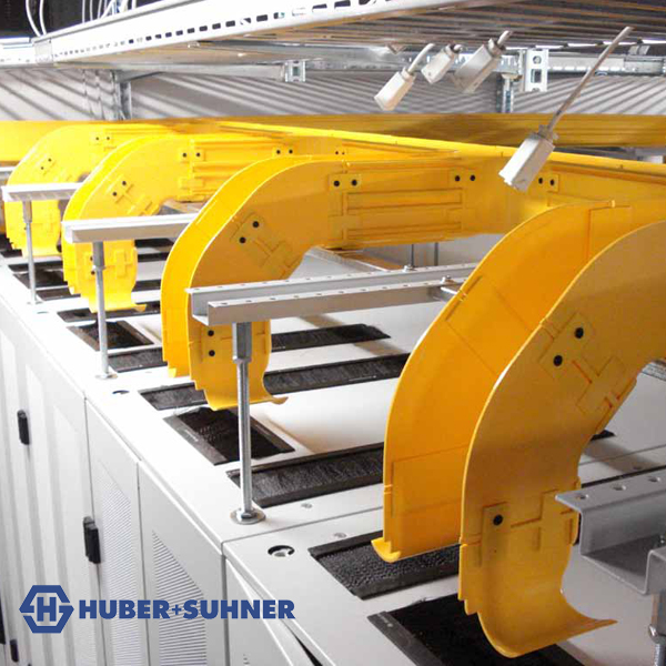 Huber+Suhner LiSA Fibre Raceway Containment