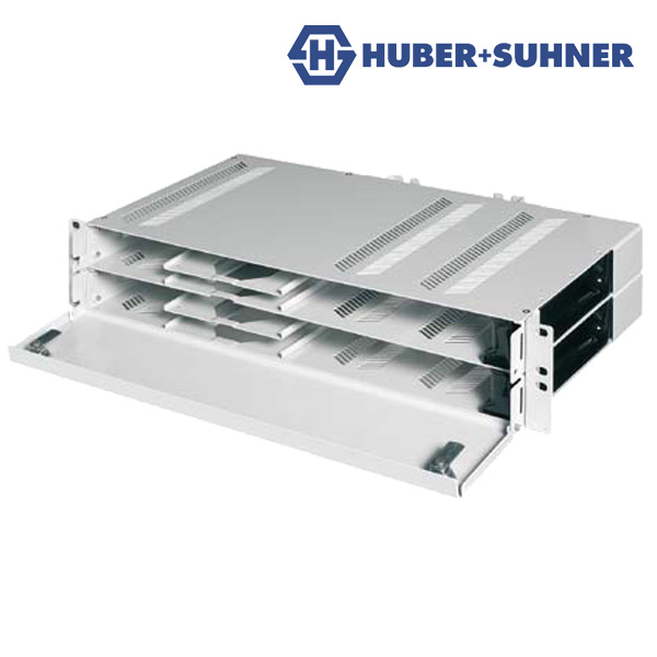 Huber+Suhner Fibre Optic Optimised Distribution Unit (ODU)