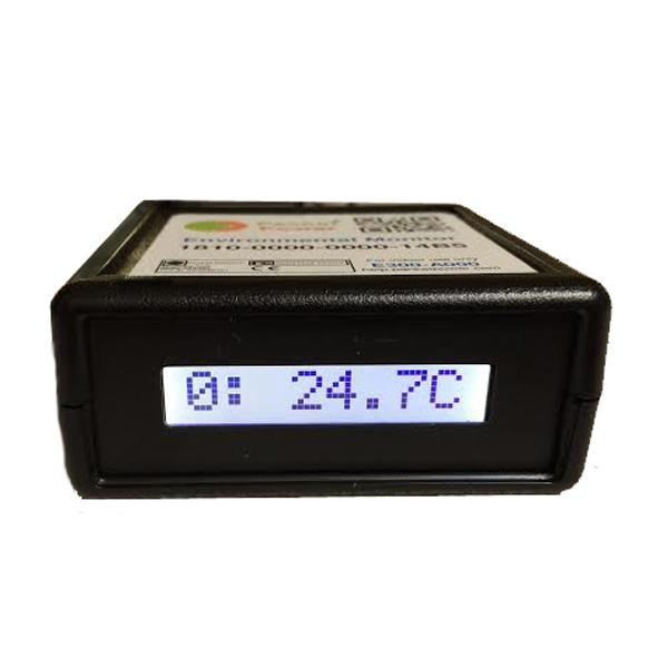 PacketPower Environmental Monitor displaying temperature