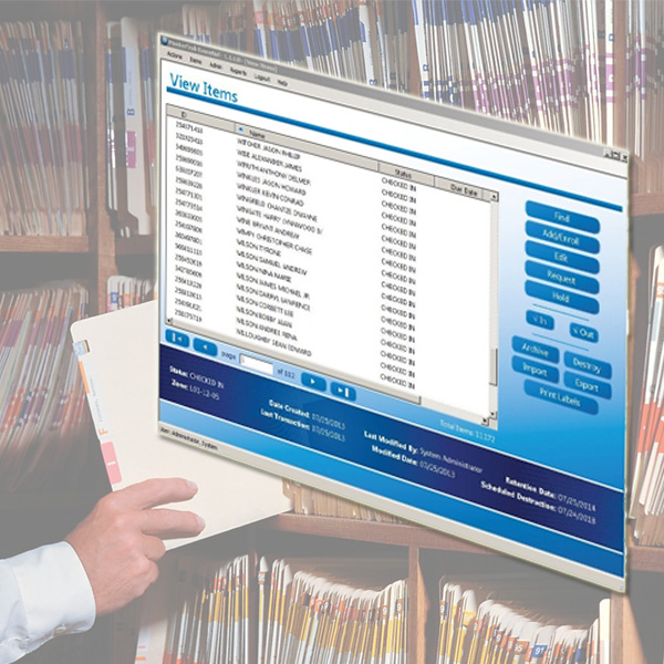 Records Management Tracking Software