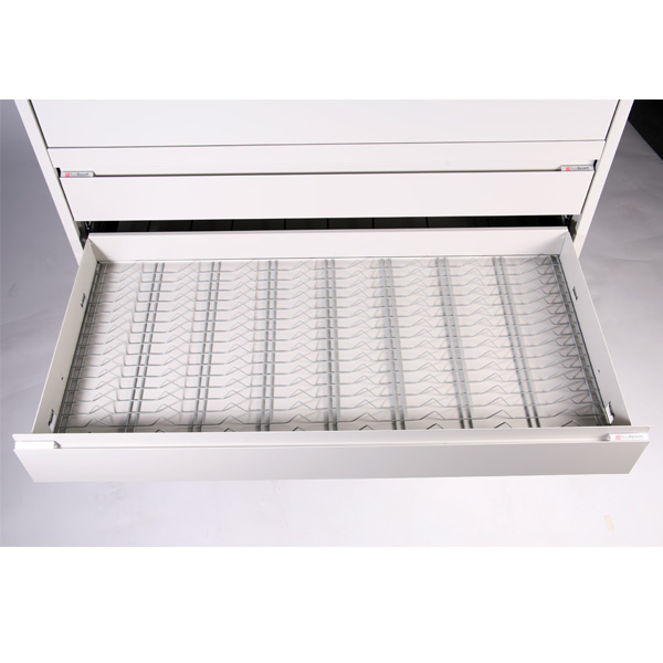 Russ Bassett ProMedia Drawer With Wire Rack For LTO Storage