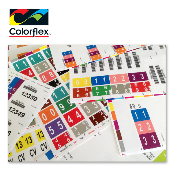 Colorflex Factory Finished Labels