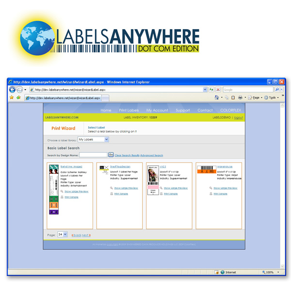 LabelsAnywhere.com Label Printing Solutions