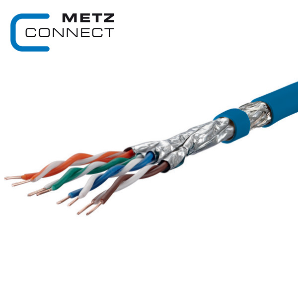 METZ CONNECT GC1200 Pro22 Cat7A S/FTP Cable 4P LSHF-FR