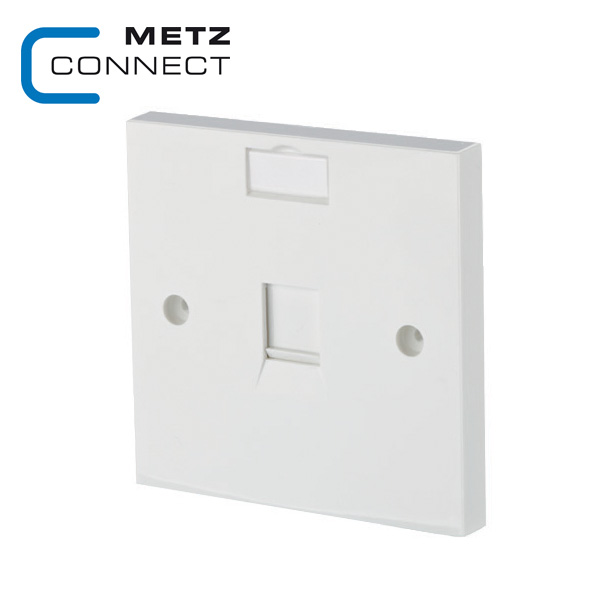 METZ CONNECT Keystone Wall Outlet - EU Style