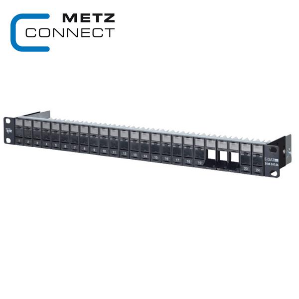 METZ CONNECT 1RU 24 Port Keystone Module Frame
