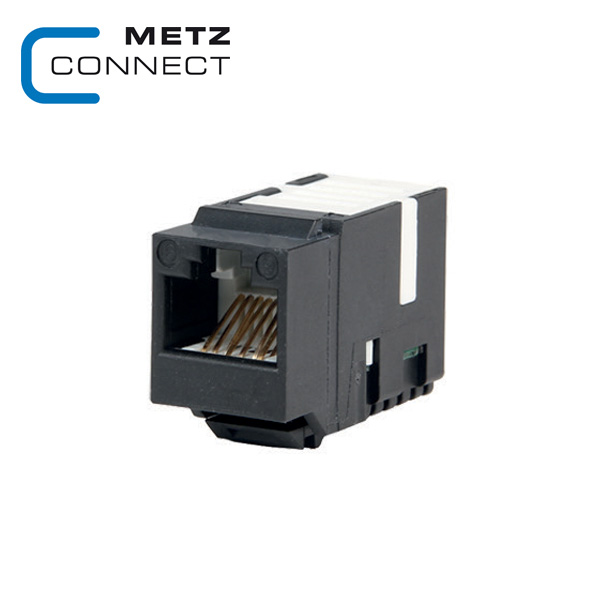 METZ CONNECT Cat.5e UTP Keystone Module – Black on cat 6 b, cat 6 wiring, cat 6 certification testers, patch cable, cat 3 wiring, category 3 cable, cat typing on computer, networking cables, rj12 wiring, ethernet over twisted pair, category 6 cable, patch panel, crossover cable, cat 5 b, cat 5 wiring, cat 6 wall jack, tia/eia-568, cat 7 vs cat6, power over ethernet, plenum cable, ethernet wiring, rca wiring, ethernet hub, network switch, shielded cable, coaxial cable, modular connector, ethernet crossover cable, optical fiber cable, rj-11 wiring,
