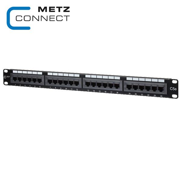 METZ CONNECT 24 Port Cat5e Patch Panel