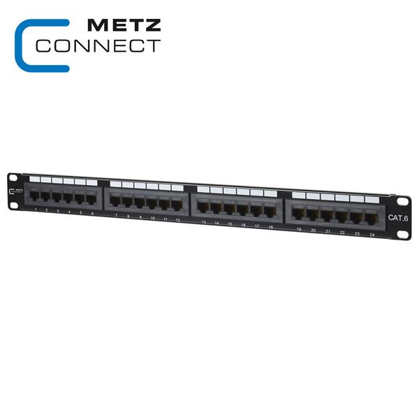 METZ CONNECT 24 Port 1RU UTP LSA Cat.6 Patch Panel