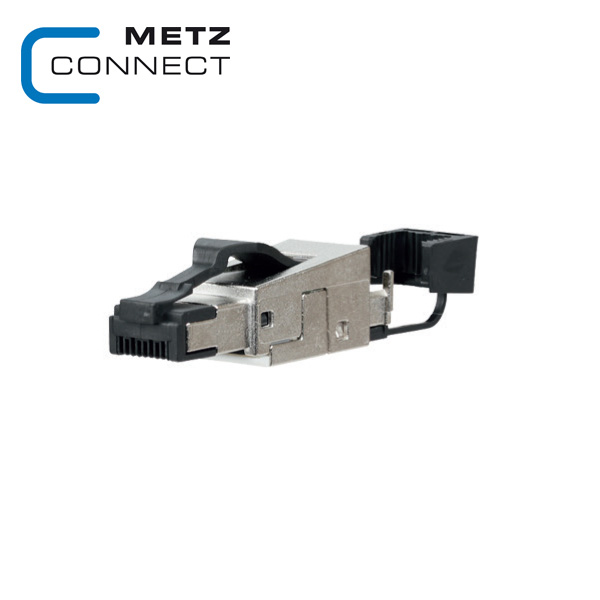 METZ CONNECT C6A RJ45 Field Plug Pro