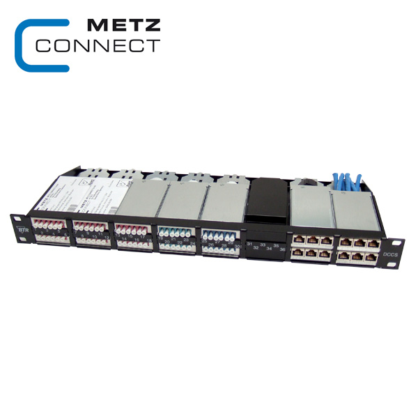 METZ CONNECT DCCS2 High Density Copper / Fibre Solution