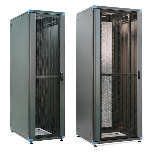 Retex Logic 2 19in Server Racks are available in 600mm and 800mm widths