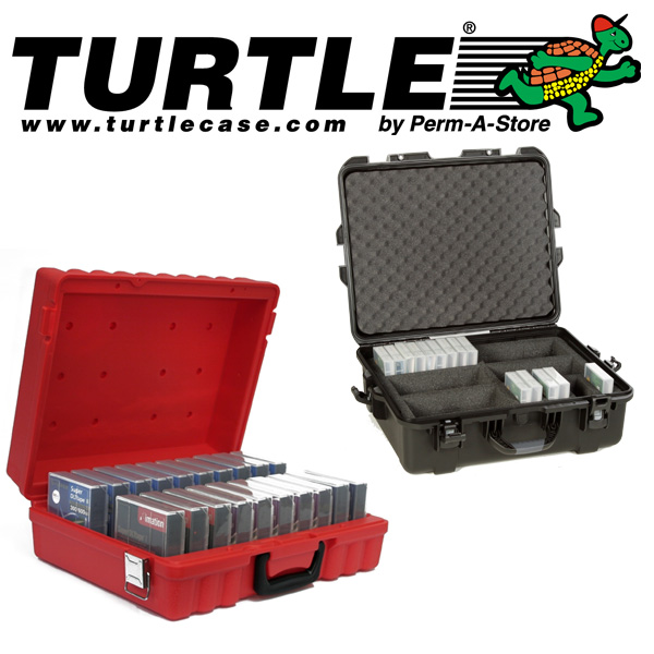 Turtle Case For Media Tapes