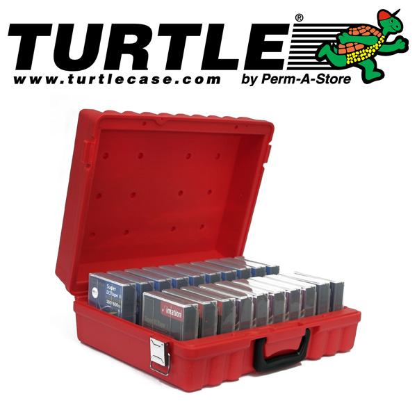 77-TC-DLT-20 - Turtle Case for 20 DLT Tapes