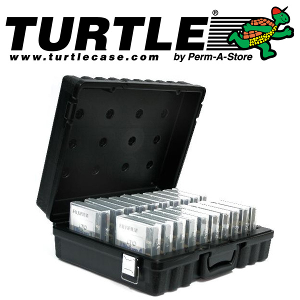77-TC-LTO-20 - Turtle Case LTO 20 for 20 LTO tapes.