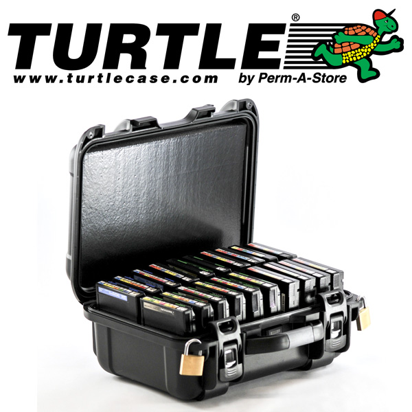 77-TC-TR-3592-20 - TeraTurtle Waterproof 3592 / 3590 / T10K / 9840 Case - 20 Capacity