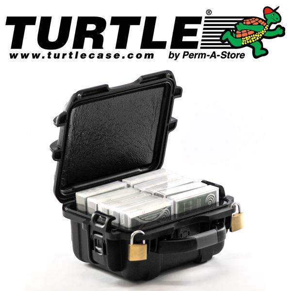 77-TC-TR-LTO-10 - TeraTurtle Waterproof LTO / 3590 / 3592 / 9840 / T10K Case - 10 Capacity