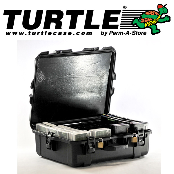 77-TC-TR-LTO-50 - TeraTurtle Waterproof LTO / 3592 Case - 50 Capacity