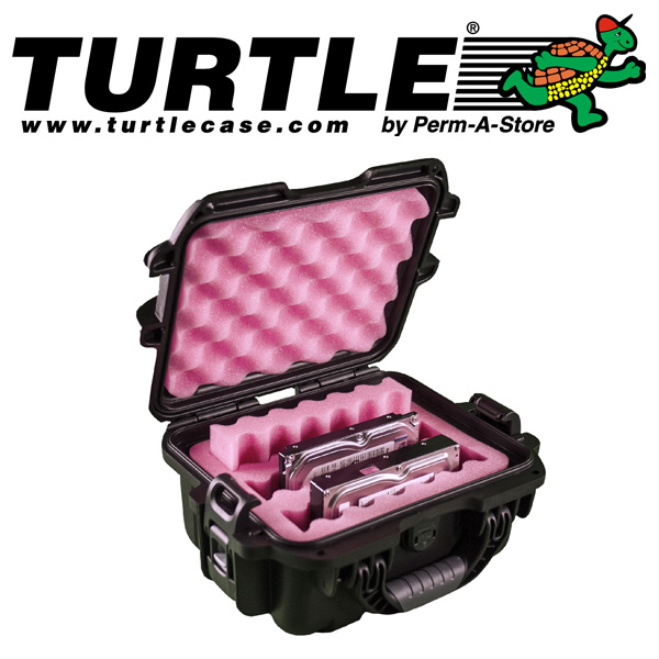 "77-TC-WTR-HD-3 - Turtle Waterproof Case for 3 x 3.5"" Hard Drives"