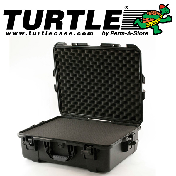 77-TC-WTR-LRG-UN - Turtle Large Waterproof Case with pluckable foam
