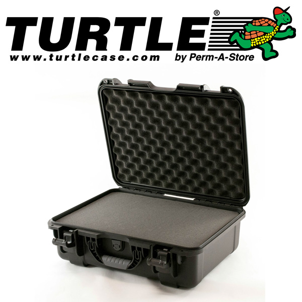 77-TC-WTR-MED-UN - Turtle Medium Waterproof Case with pluckable foam