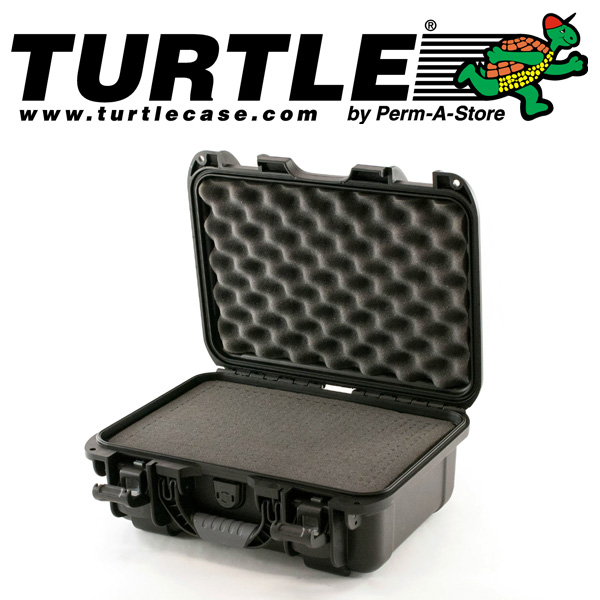 77-TC-WTR-SM-UN1 - Turtle Small Waterproof Case with pluckable foam