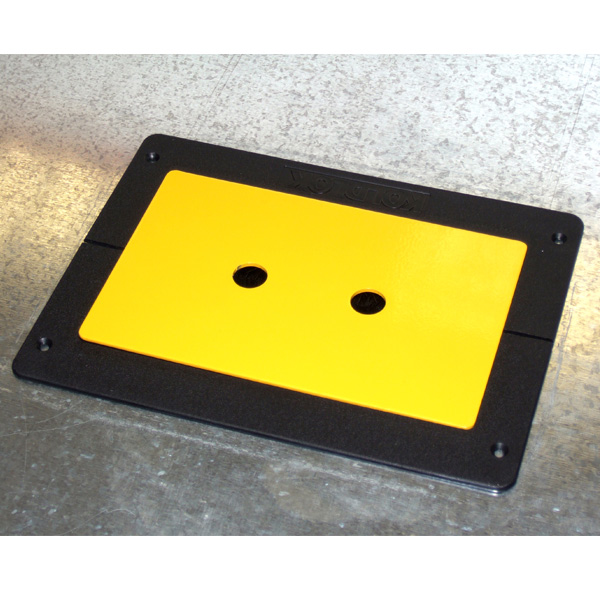 Safety Plate Installed In KoldLok Integral