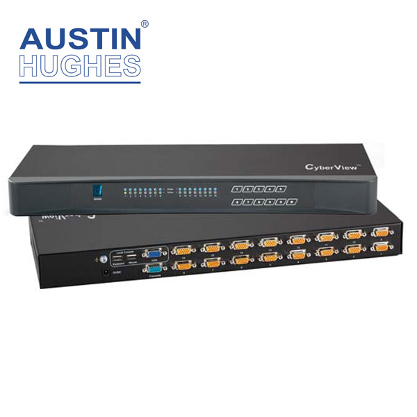 Austin Hughes Combo DB15 KVM Switch