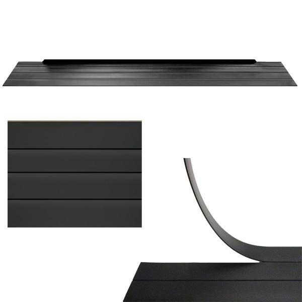 AisleLok Under Rack Panel has pre-scored panels for easy excess removal