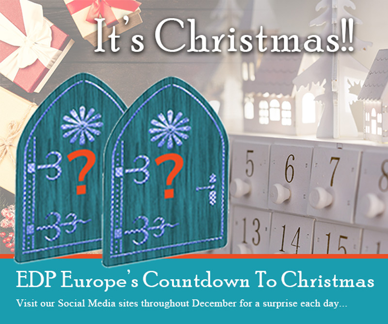 EDP Europe Christmas Advent Calendar Banner