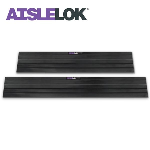 AisleLok Magnetic Under Rack Panel seals gaps under IT Racks