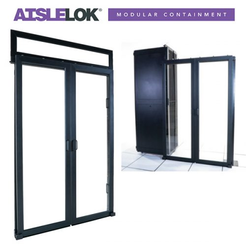 AisleLok Sliding Doors for Aisle Containment