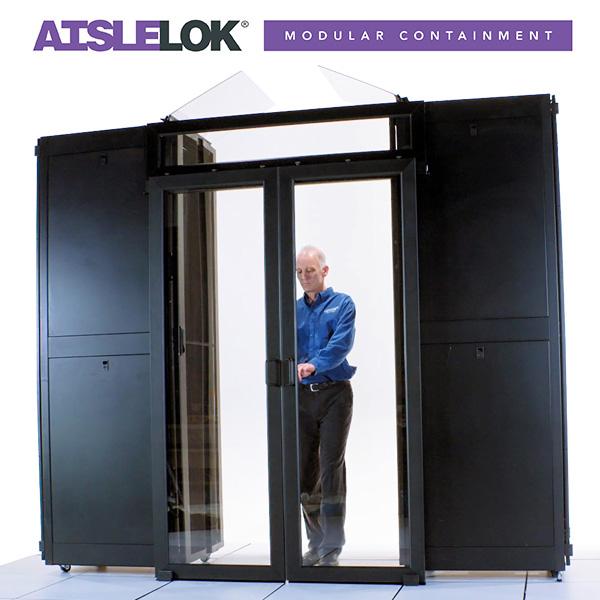 AisleLok Modular Containment with AisleLok Sliding Doors