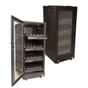 Charging Cabinet Racks for Handheld Devices